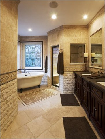 Stunning Custom Bathroom Design Peachtree Battle