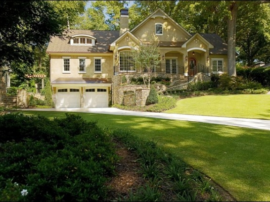 Stunning Custom Home Design Peachtree Battle
