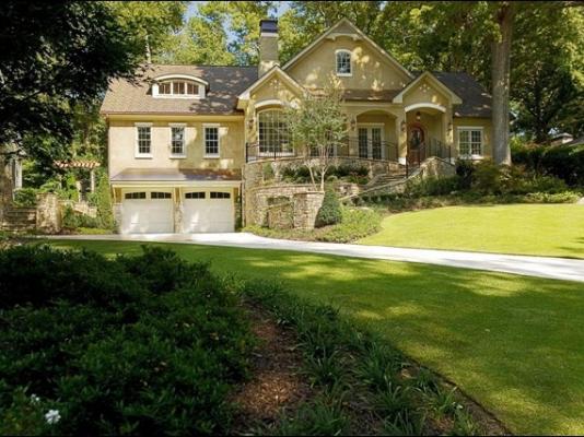 Stunning Custom Home Design Peachtree Battle