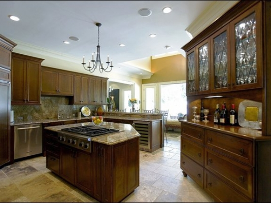 Custom Built Kitchen Peachtree Battle
