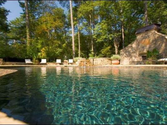 Custom Built Infinity Pool Peachtree Battle